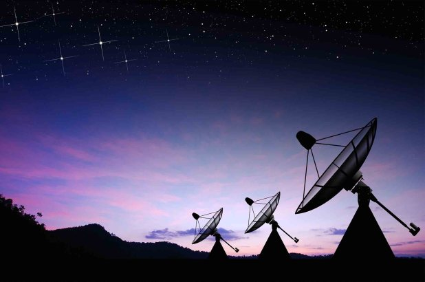 Events in Science: Mysterious Radio Signals